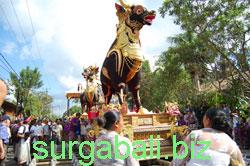 upacara ngaben hindu bali