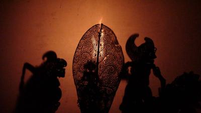 tari wayang kulit bali